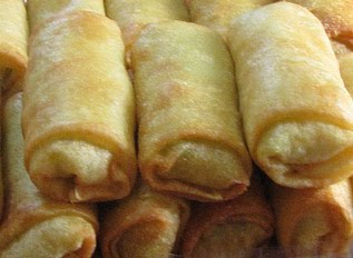 Chicken Spring Roll (Lumpia Ayam