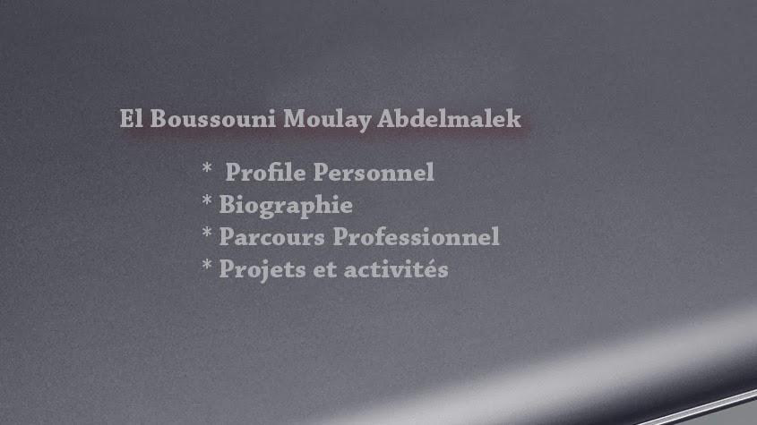 El boussouni moulay abdelmalek