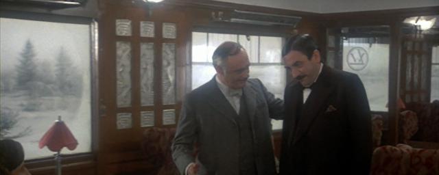 Albert Finney (Poirot) Martin Balsam