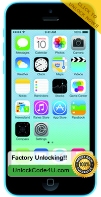 Factory Unlock Solution for iPhone 5c