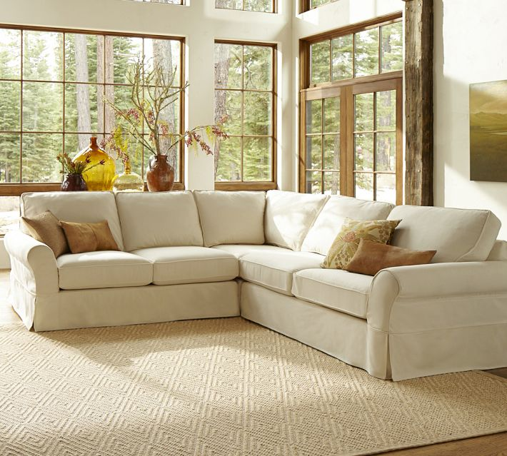 Girlfriend Shopping Friday {Pottery Barn Sectional