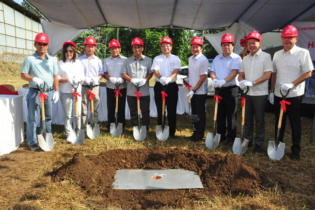 Honda Cars Lipa City Groundbreaking Ceremony