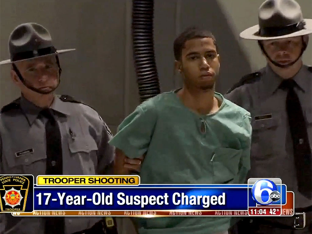 nude little girls 11-17 yo 17 YEAR OLD COLORED BOY Giovanni Cotto Charged with Shooting Pennsylvania State Trooper in Shoulder