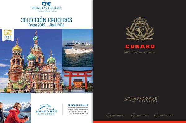 CATÁLOGOS - Mundomar cruceros lanza nuevo catálogo con una renovada imagen corporativa