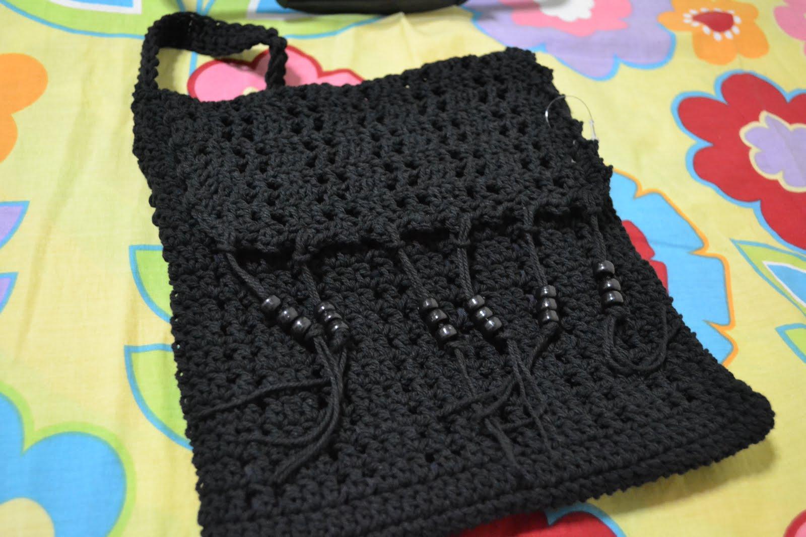 Sling bag crochet - Crochet Sling Bag 14