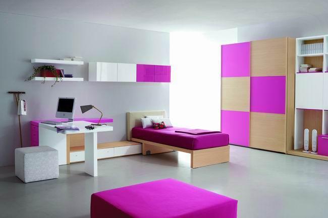 Habitaciones juveniles habitaciones para chicas adolescentes for Decoracion de cuartos para jovenes
