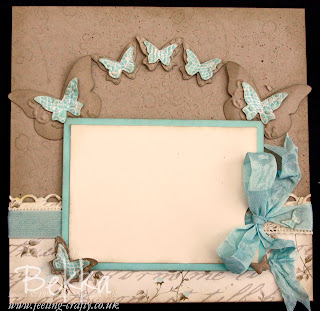 Scrapbook Page with Attic Boutique Papers from Stampin' Up!
