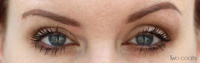 Maybelline Lash Sensational two coats