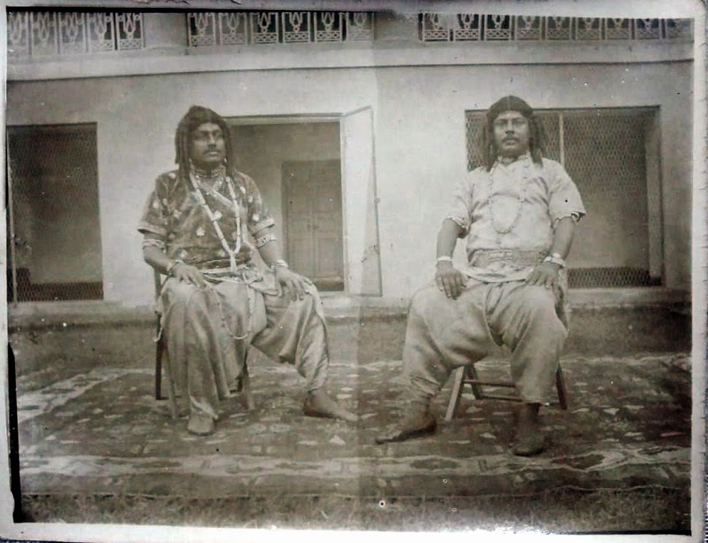 Vintage Photographs of Ramleela Play Actors - Date Unknown