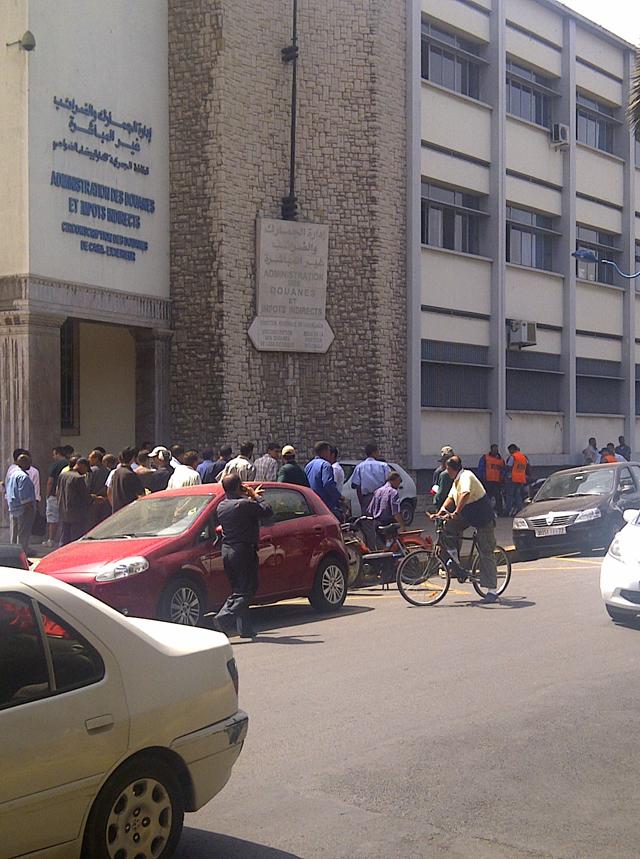 Attaque armée au centre ville de Casablanca