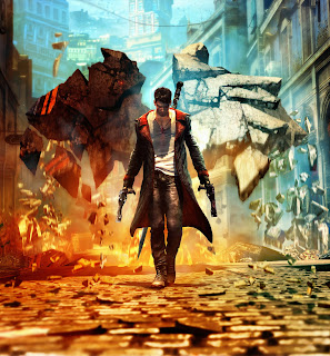 Dante Explosion Devil May Cry Game Art
