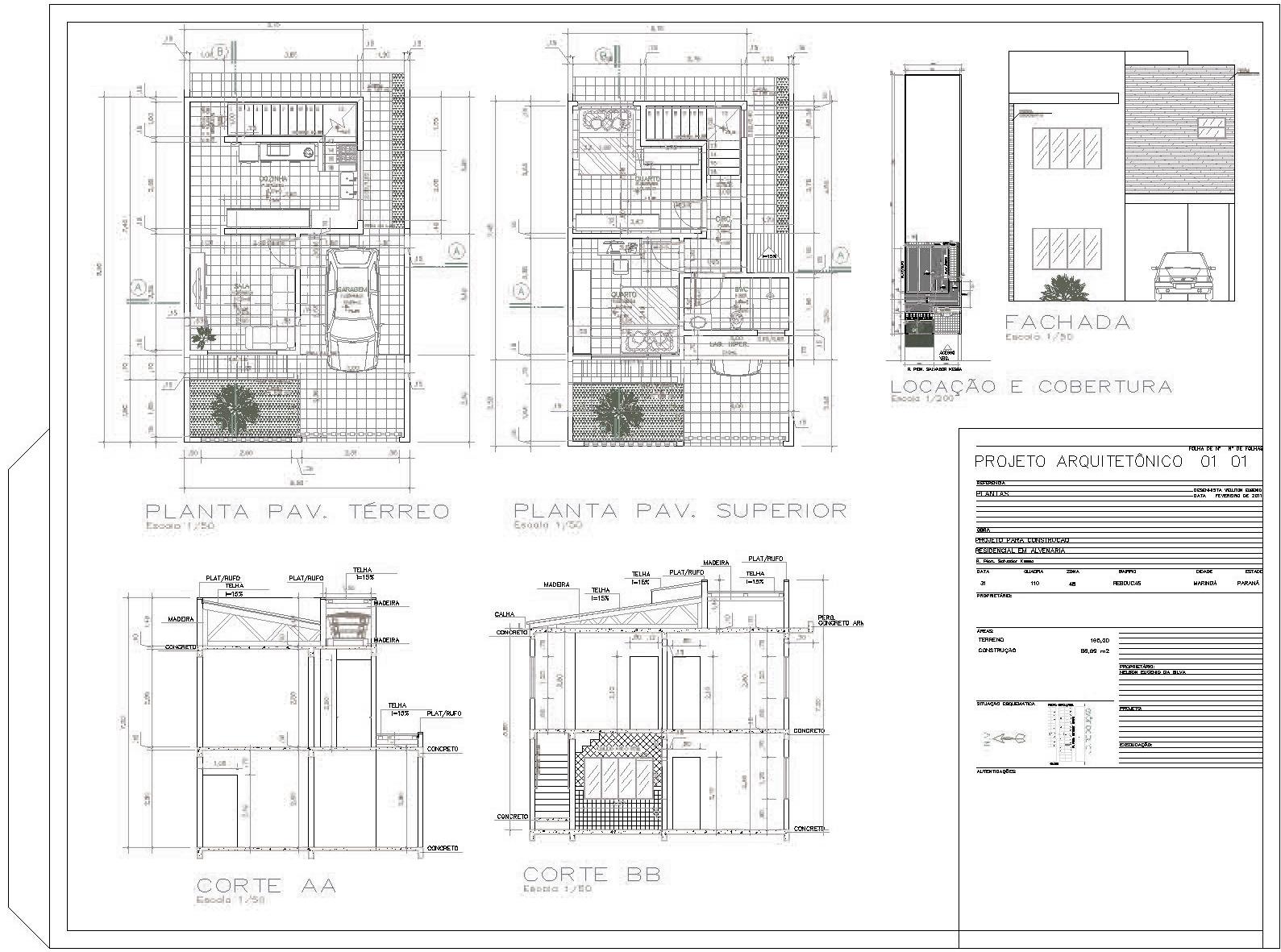 Como criar planta baixa - iniciando seu projeto de casa | Faca ...
