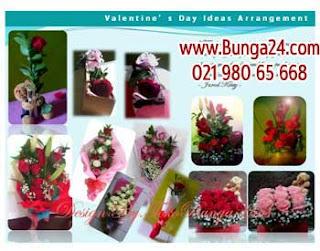 Bunga Mawar Merah Buat Valentine