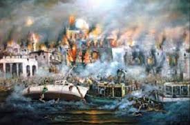 27 Αυγ 1922 Μπήκαν οι Τούρκοι στην Σμύρνη 13 έως 17 Σεπτ 1922 η Καταστροφή της Σμύρνης (Vid, Pics)