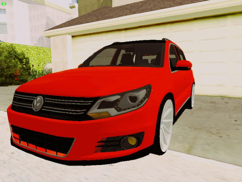 GTA SA - Volkswagen Tiguan VOSSEN Wheels