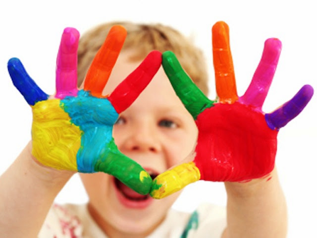 Colori a Dita per Bambini