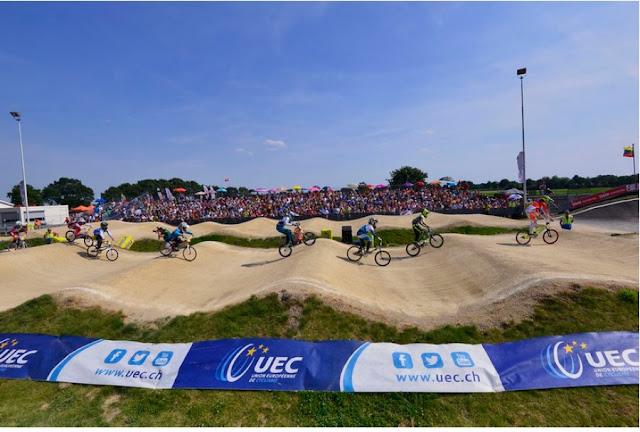 BMX - Campeonato de Europa 2015 (Holanda). Van Gendt y Elke Vanhoof son los nuevos reyes del continente