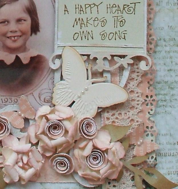 Live The Dream .......: Vintage Rose Flower Tutorial