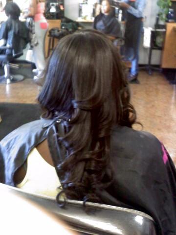 Garden Of Divas: Partial Weave Hairstyles