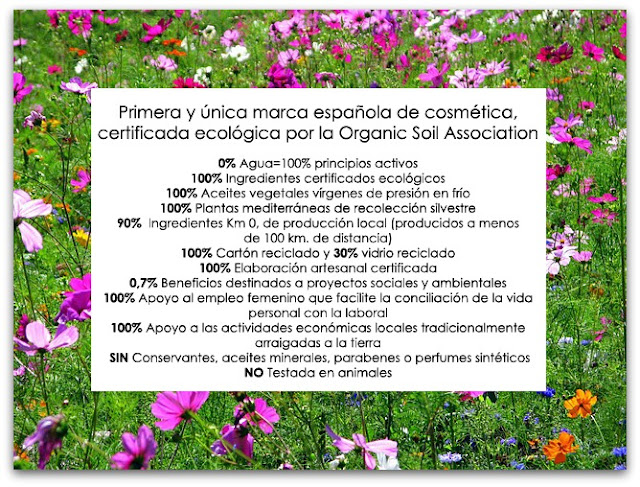 Matarrania cosmética bio