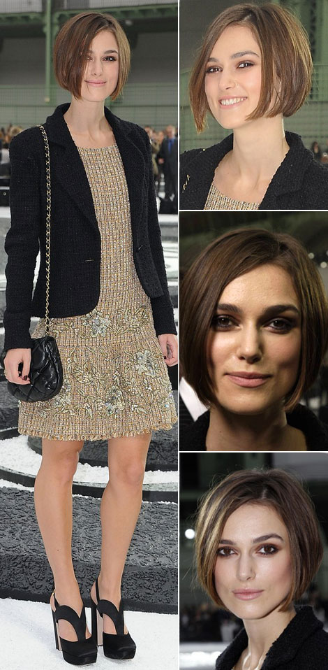 hair styles amp haircuts keira knightleys haircut hits and