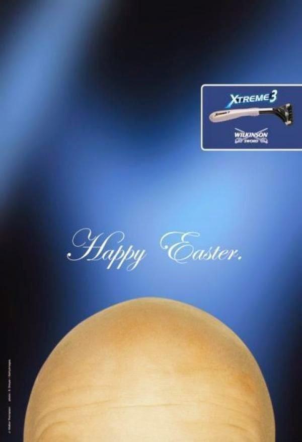 Publicidad Creativa, Pascua, Wilkinson Xtreme3