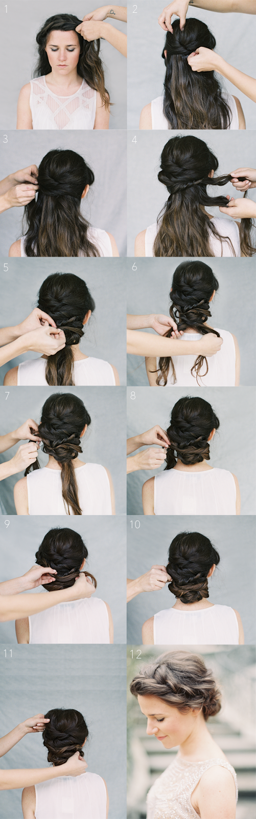 hairstyles for long hair braids steps