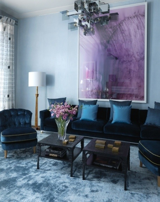 lisa mende design purple and blue