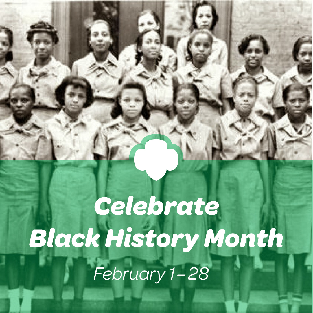 Girl Scout Blog: Celebrate Black History Month with Girl Scouts!