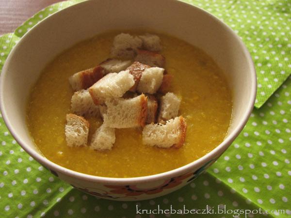 Szybka zupa-krem z kukurydzy :)