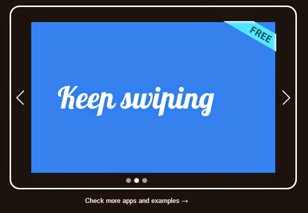 Swiper Mobile touch slider