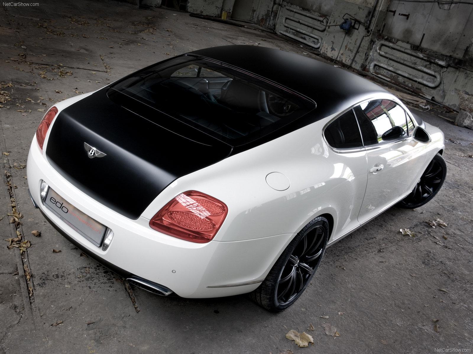 Hình ảnh siêu xe Edo Bentley Continental GT Speed 2009 & nội ngoại thất