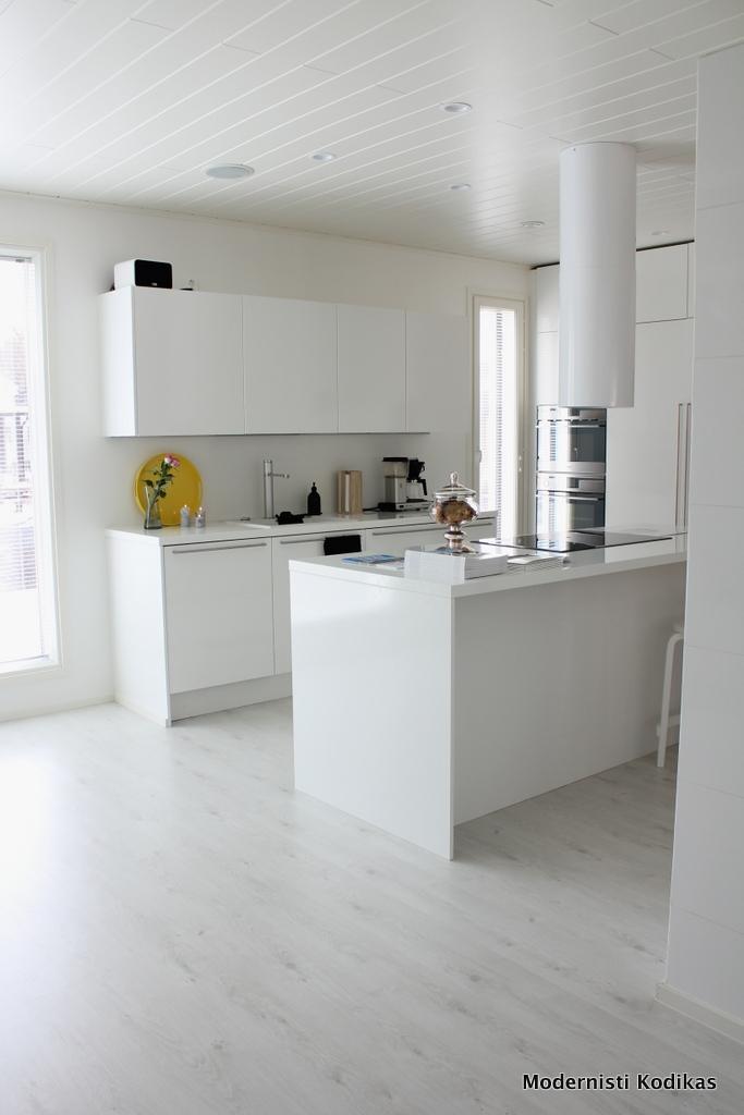 Asuntomessut 2014 Kurkistus Deko159 talon sisustukseen  Modernisti kodikas