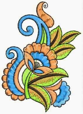 multi kleur veelkleurige appliekwerk ontwerp