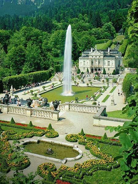 Linderhof Castle Garden palace