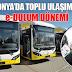 Konya'da Toplu Ulaşımda e-Dolum Dönemi