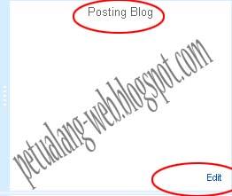 cara mudah menghilangkan tanggal di blogger