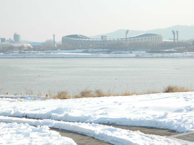 The Han River view, Seoul