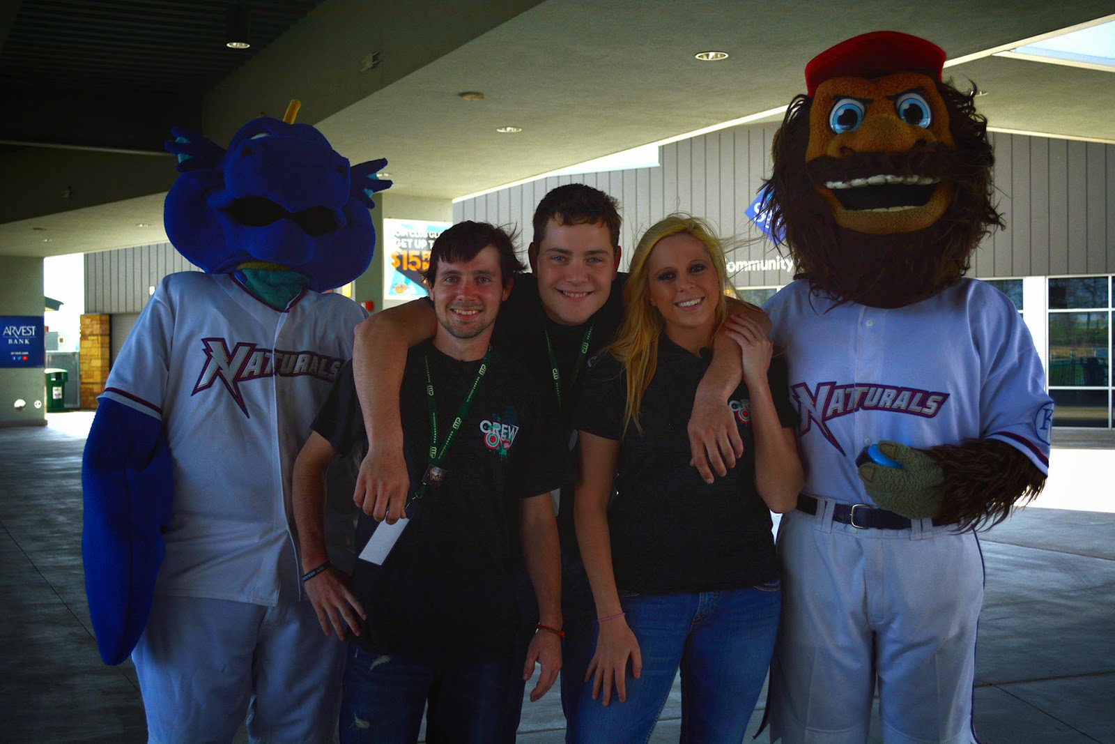 The Arkansas CW Crew: Cheer on the Naturals on opening day April 16th ...