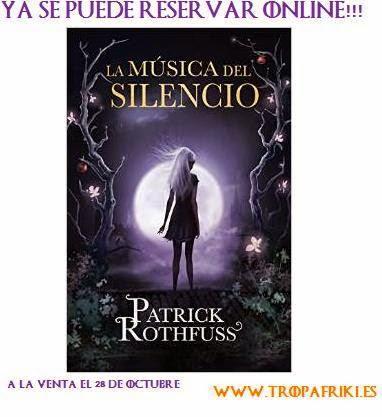 La musica del silencio hisotria de Auri Patrick Rothfuss