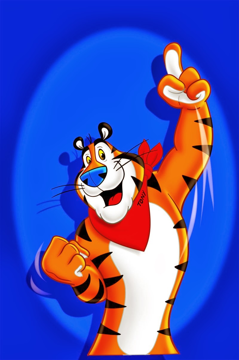 Tony the Tiger by advertising magnate Leo Burnett