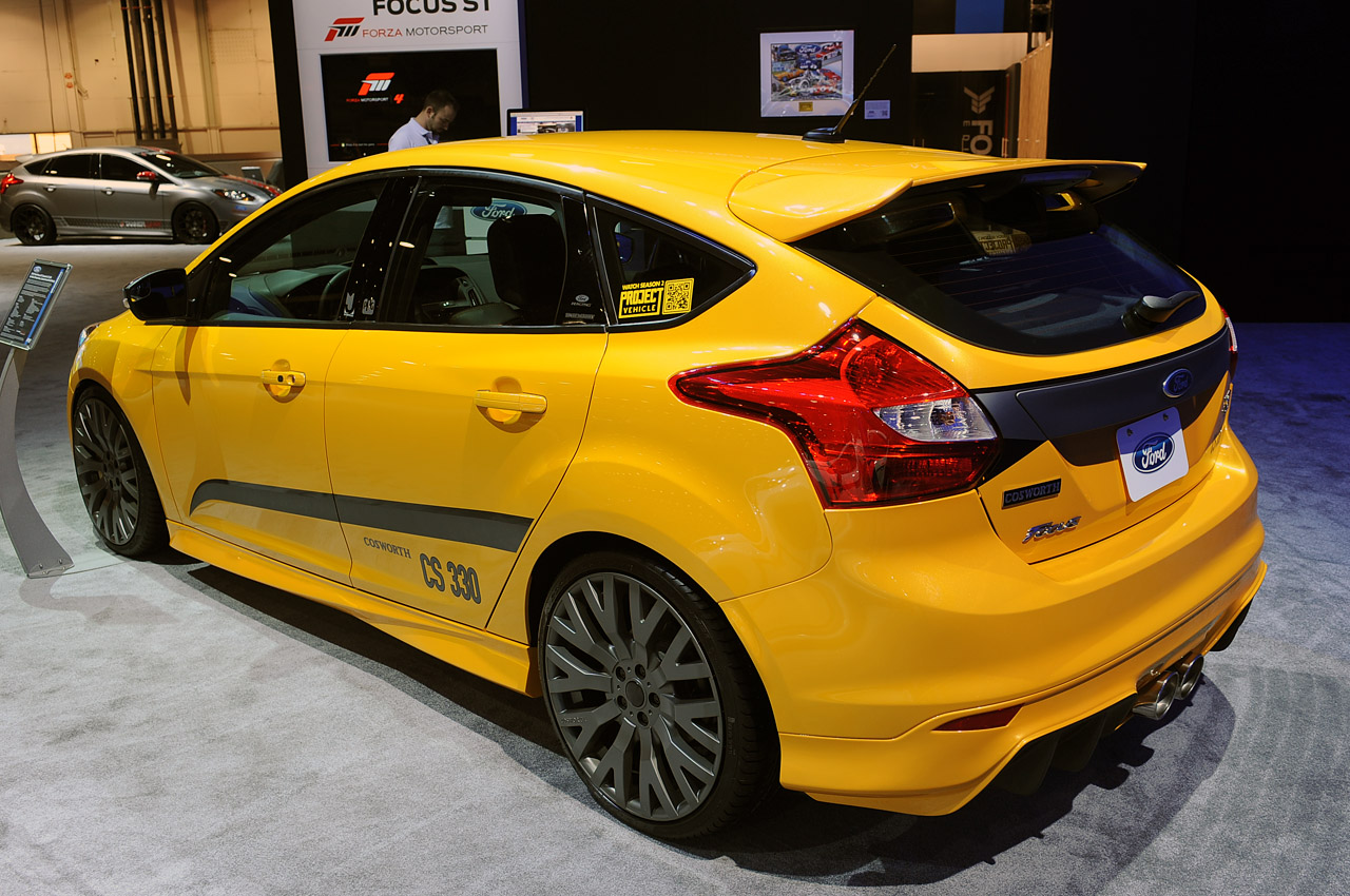 all tuning cars nz 2012 ford focus st concept at sema. Black Bedroom Furniture Sets. Home Design Ideas