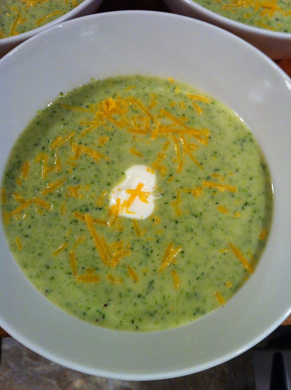 Counting Up with P10!: Cream of Broccoli Soup