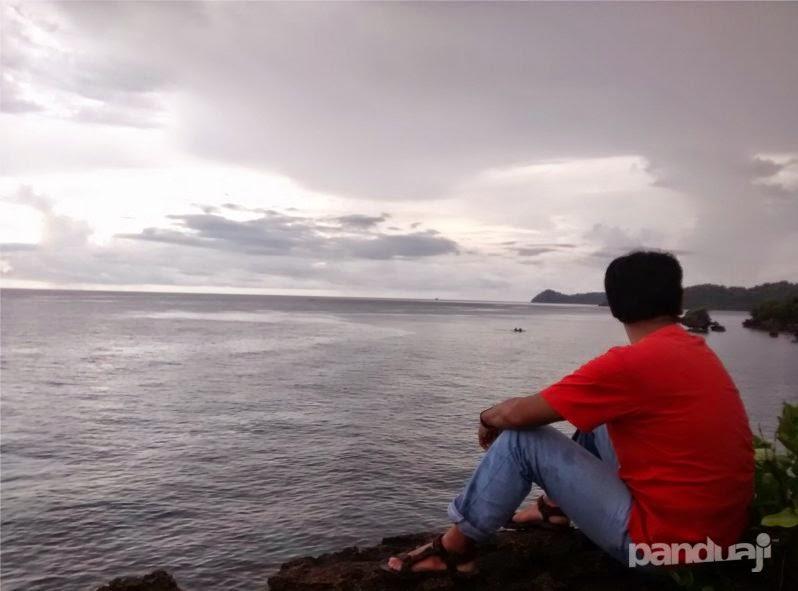 Mas Budi di Tanjung Gaang