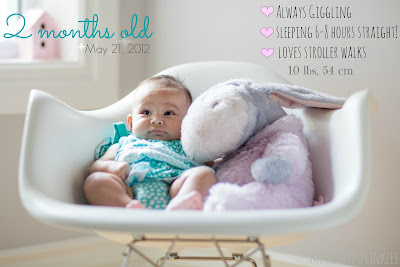 cute ways to capture your baby's growth