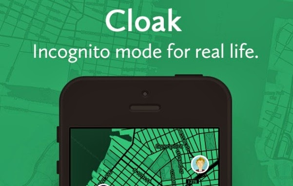 Cloak - an anti-social app that tips you off to where your friends have checked in.