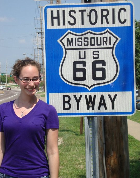 """It seems slightly inappropriate to title this """"Get your kicks on Route 66."""""""
