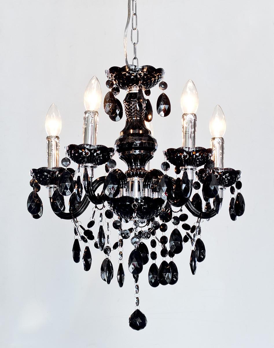 Black chandelier lamp for elegant and modern home interiors black chandelier elegant modern arubaitofo Gallery