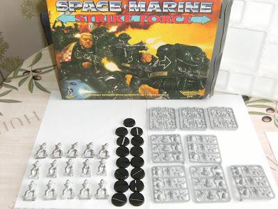 Contenido de la Caja de Space Marine Strike Force para Warhammer 40K