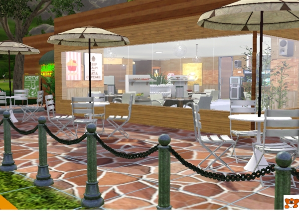 sims3housemygallery cafe